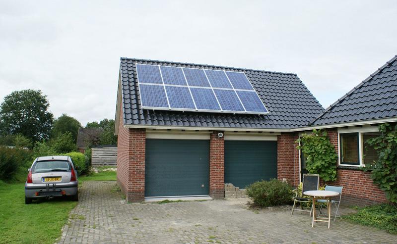 Monteren van zonnepanelen