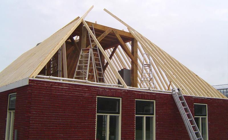 Nieuwbouw van een woning