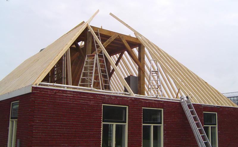 Verbouwen van woningen en bedrijfspanden